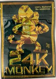 a picture of 24K-Monkey-–-Classic-Incense-10g